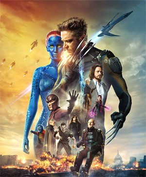 X-Men: Days of Future Past filmruta