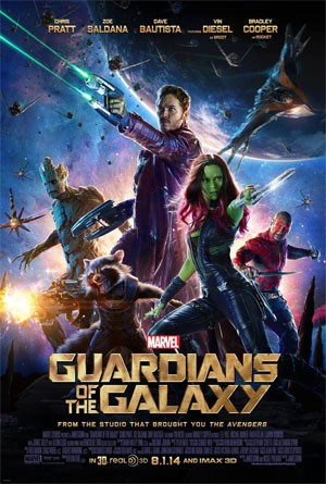 Guardians of the Galaxy filmruta